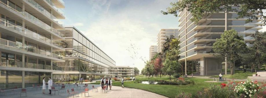 Lausanne-Dorigny: résultats du concours d'architecture et d'idées « Campus Santé »