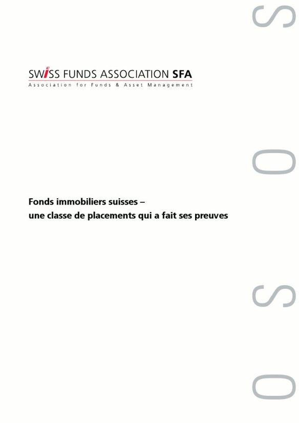 Fonds immobiliers suisses – une classe de placements éprouvée