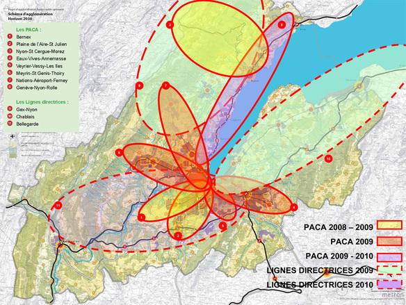 Genève : Bilan 2008 et programme 2009 pour l'aménagement du territoire