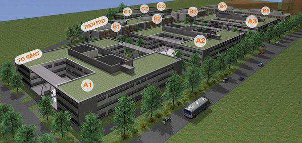Les premiers bâtiments du Businesspark Terre Bonne sortiront de terre au printemps 2010