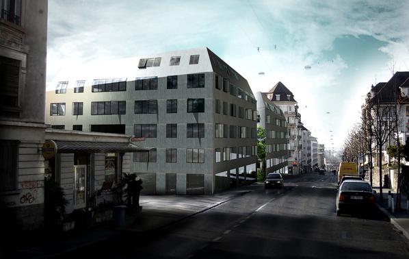«Sirius», projet lauréat du concours d'architecture de l'avenue de Morges