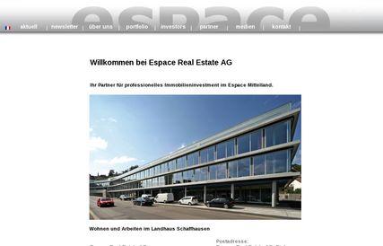 Quatrième augmentation des dividendes chez Espace Real Estate AG