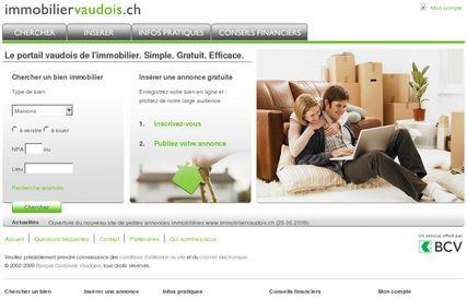 screenshot site web