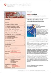 L'OFS publie son Informations sur la statistique des prix de la construction