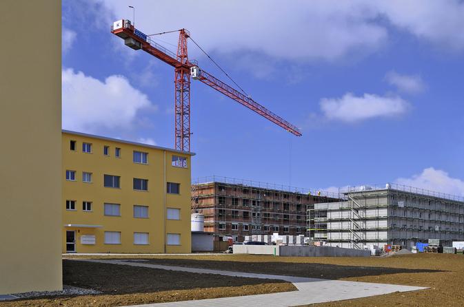 Les investissements dans la construction en Suisse en 2008