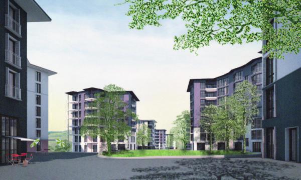 Helvetia présente le projet lauréat pour le lotissement de Frohburg à Zurich-Oerlikon