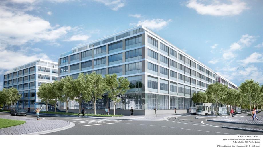 Swiss Prime Site Immobilien: vente de deux bâtiments du projet «Espace Tourbillon» à Genève