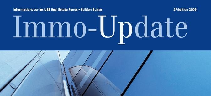 UBS publie Immo-Update édition novembre