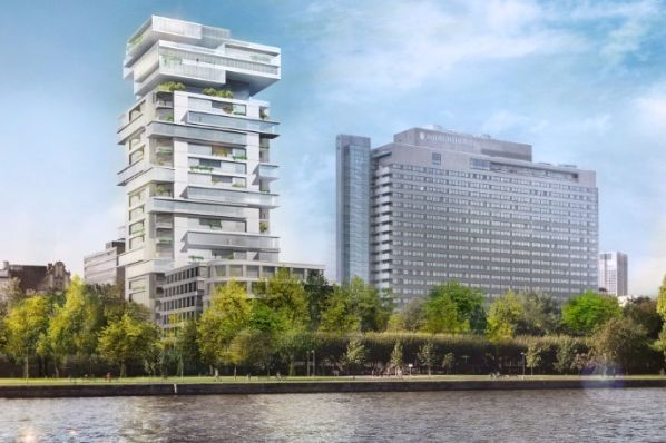 German GEG develops €220m Riverpark Tower in Frankfurt