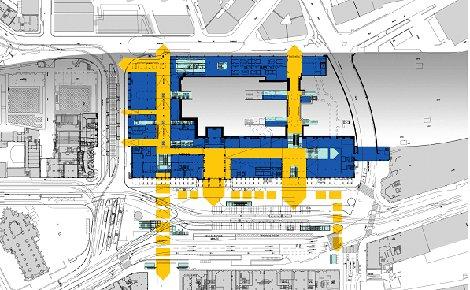 Transformation de la gare RailCity de Genève Cornavin
