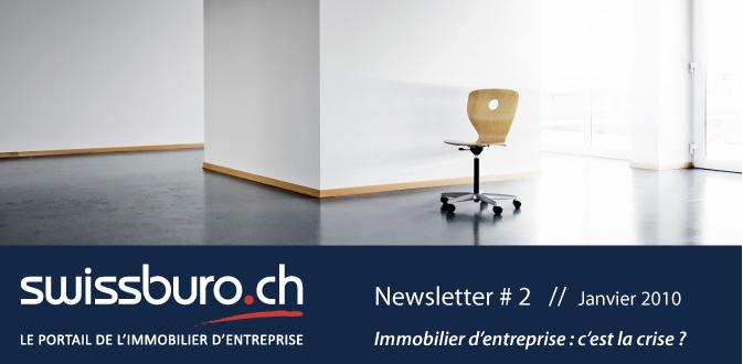 Swissburo.ch : Newsletter n°2