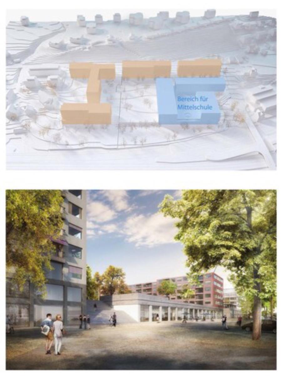 Intershop : new project in Zürich