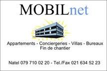 Mobilnet ; entreprise de nettoyages