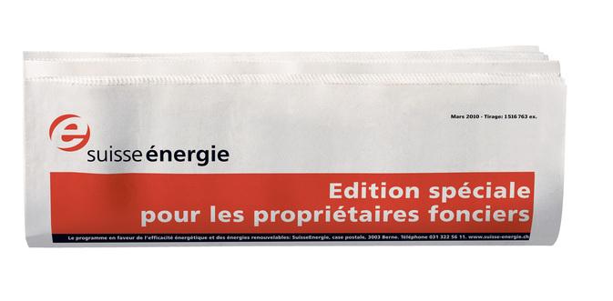 Assainir et profiter: les nouvelles éditions spéciales de SuisseEnergie vous donnent la recette