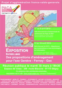 PROJET D'AGGLOMÉRATION- AXE GENÈVE-FERNEY-GEX