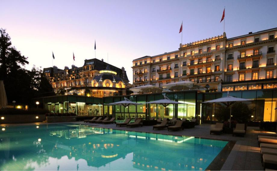 L'hôtellerie suisse s'est rapprochée de ses années record en 2017