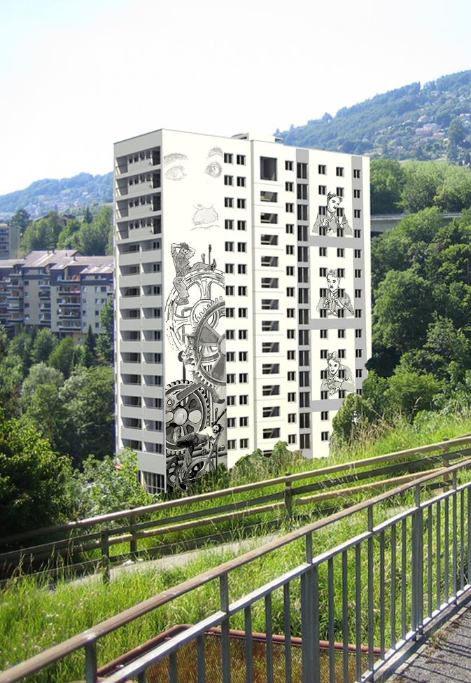 Fresques monumentales de Vevey, le chantier est ouvert !