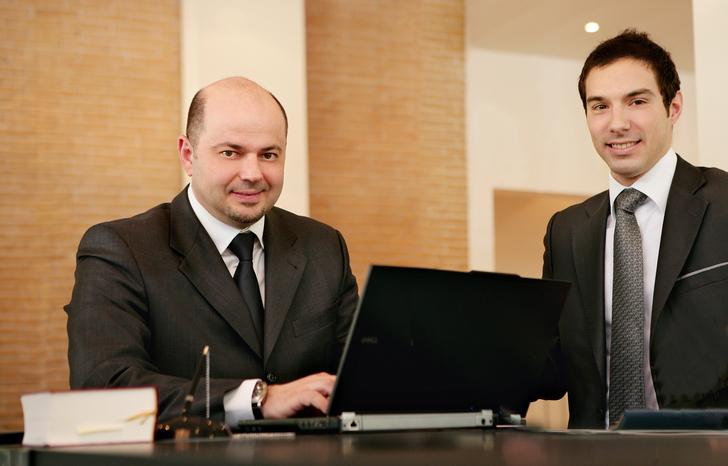 Jean Pierre Ferrara et Andrea Del Negro