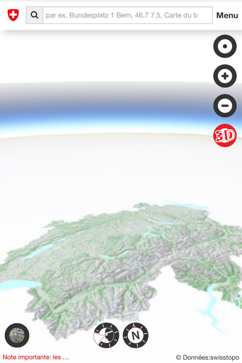 Tous les bâtiments de Suisse peuvent maintenant être visualisés en 3D