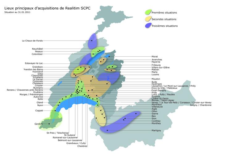 Realitim® SCPC : CHF  57 millions levés pour le développement  immobilier en Suisse romand