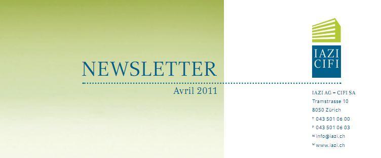 La newsletter du CIFI