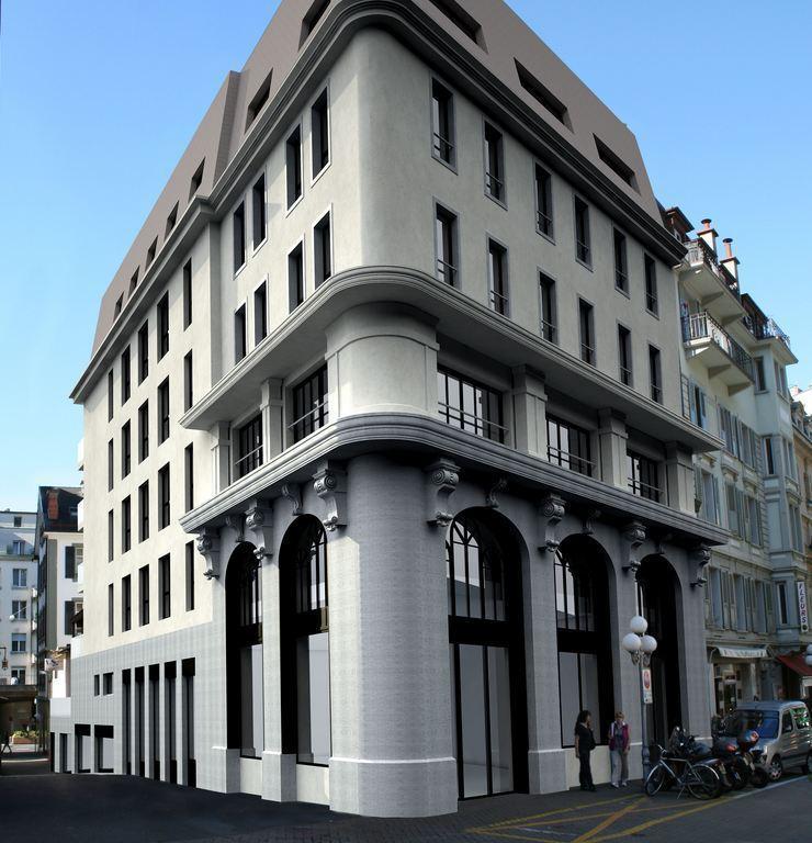 Claudio Colucci, designer genevois de renommée internationale, réalise un concept unique d'architecture d'intérieur pour le projet de résidence haut standing Arcadia à Montreux