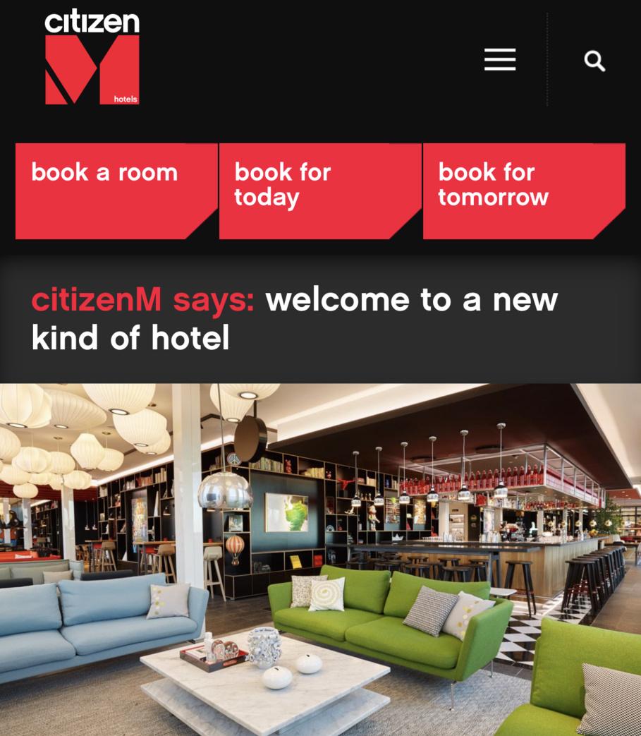 Zurich: CitizenM ouvre son premier hôtel en Suisse