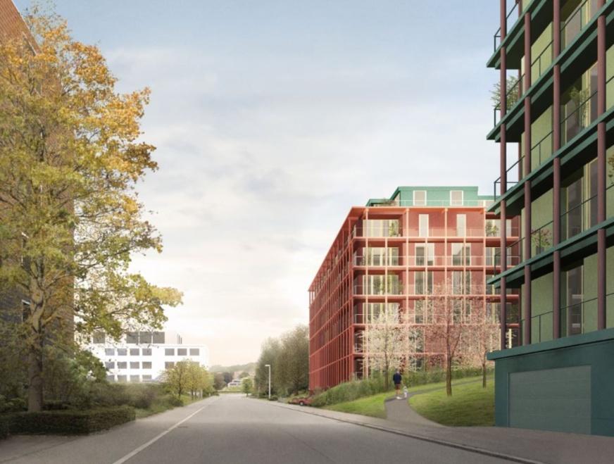 Architekturwettbewerb für Wohnüberbauung Eggen in Luzern