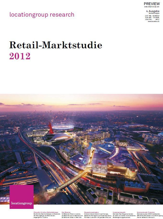 Consulter l'étude Retail Marktstudie 2012