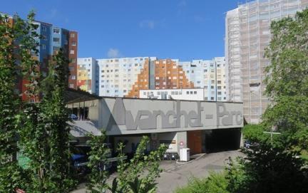 Centre commercial Les Avanchet