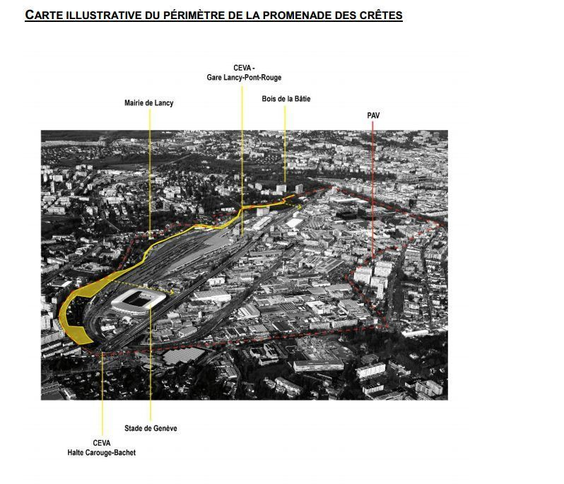 Le premier concours d'espaces publics  du secteur Praille Acacias Vernets (PAV) est lancé