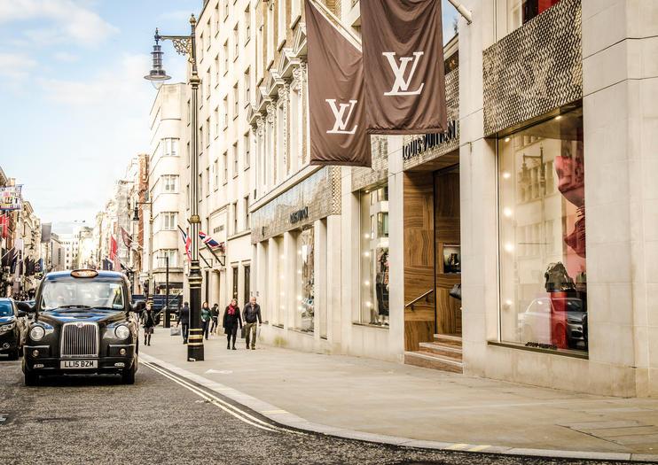 New Bond Street est la rue la plus chère d'Europe