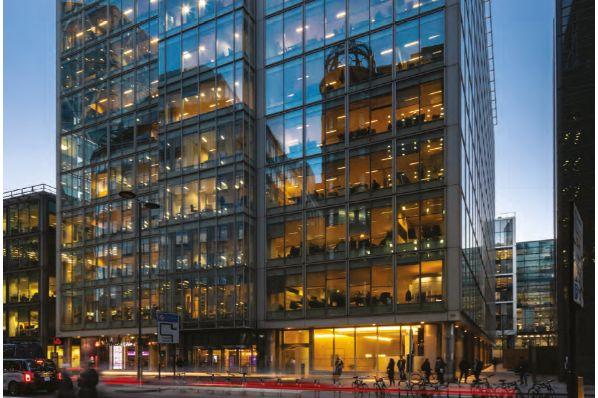 CBRE GI acquiert un immeuble de bureaux à Londres