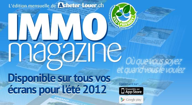 Acheter-Louer.ch & Publimmo vous attend au salon de l'immobiler de Montreux du 22 au 24 juin 2012