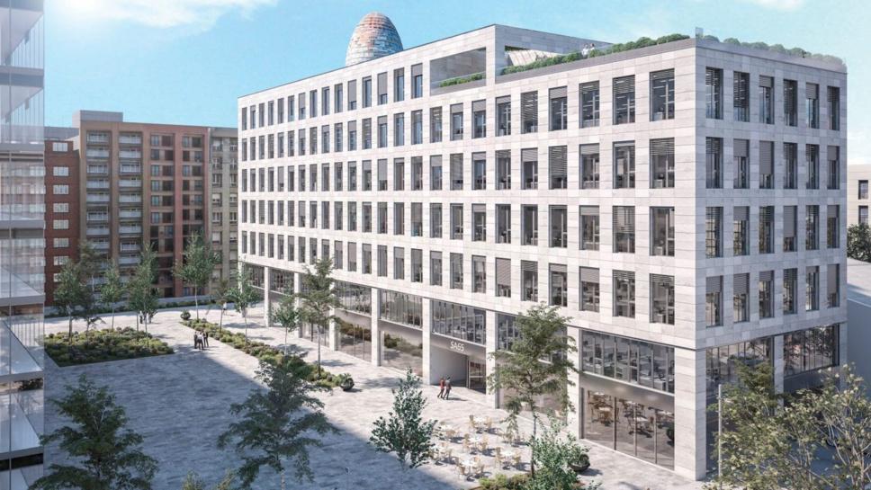 Amundi acquiert un immeuble de bureaux à Barcelone