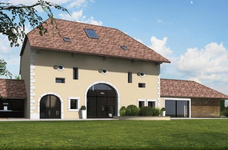 Immeuble à usage mixte à vendre - 1278 La Rippe, Rue du Carroz, CHF 7'000'000.-