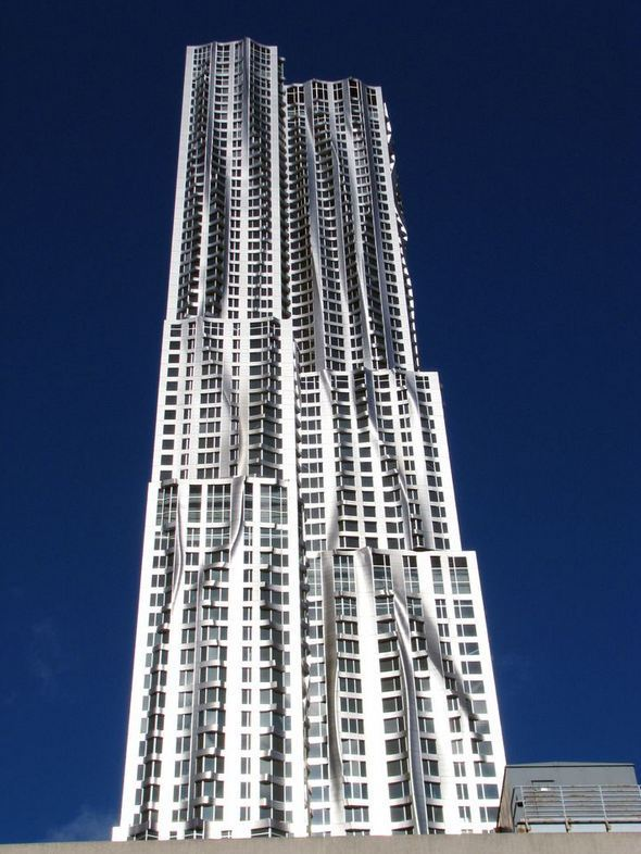 8 Spruce Street Copyright: Courtesy of Gehry Partners