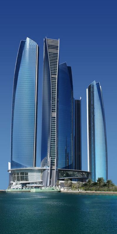 Etihad Towers  Copyright: Warren Coyle