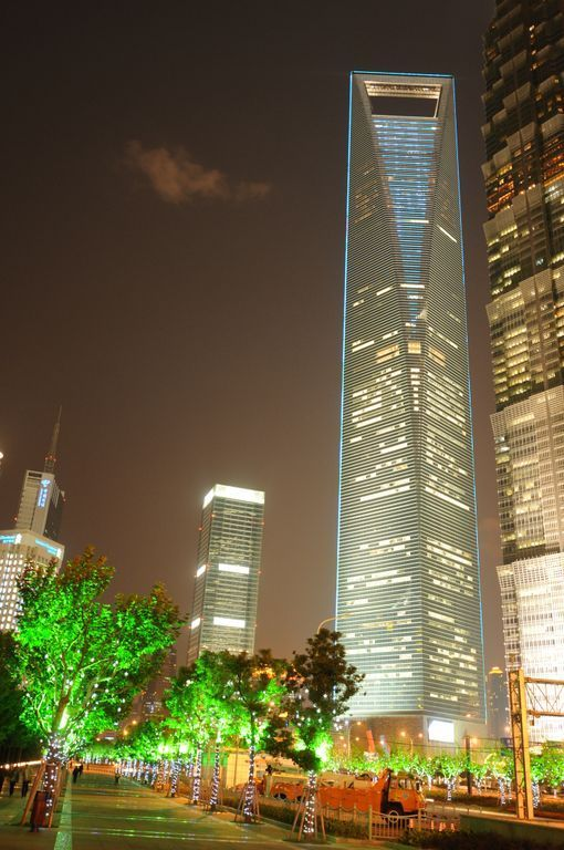 Shanghai World Financial Center Copyright: ThyssenKrupp Elevator AG