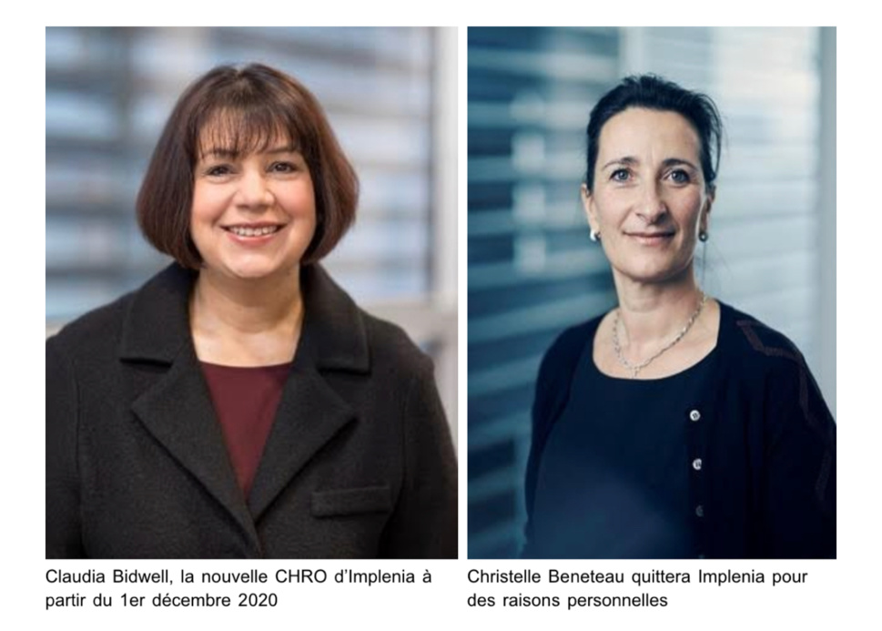 Claudia Bidwell devient Chief Human Resources Officer