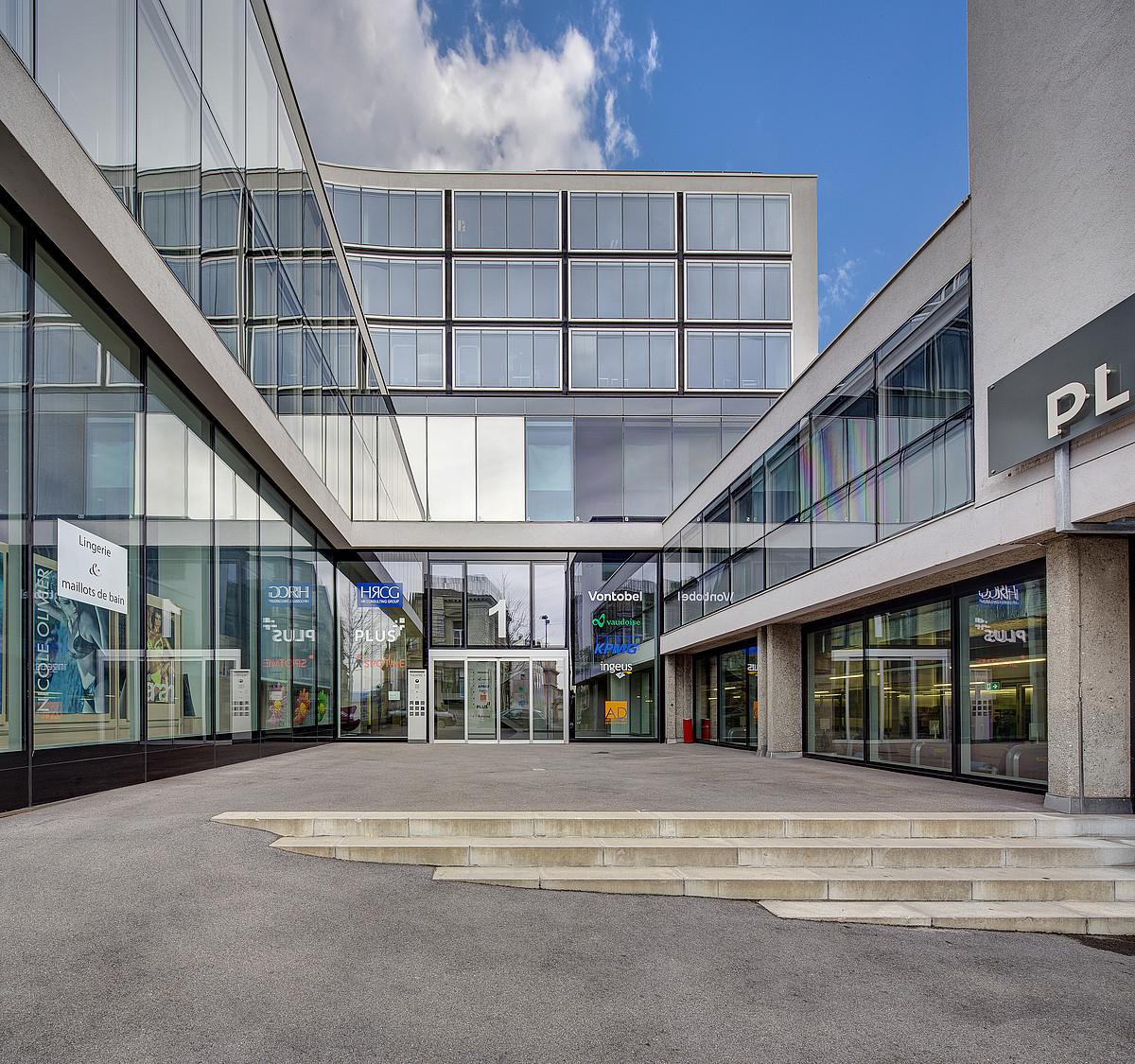 Bureaux prestigieux au coeur de Lausanne