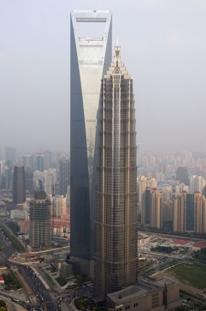 Shanghai World Financial Center Copyright: Thierry Beauvir