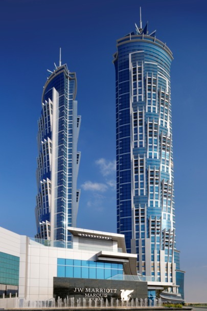 JW Marriott Marquis Dubai 1 Copyright: JW Marriott Marquis Dubai 2012