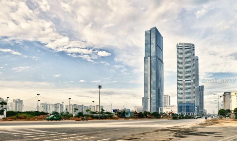 Keangnam Hanoi Landmark Tower Copyright: Quang Vu