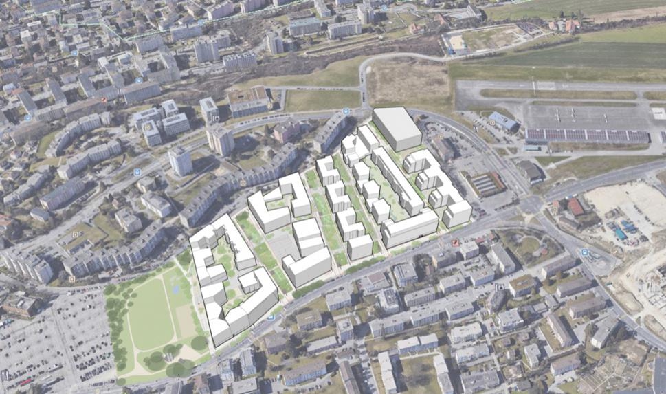Ecoquartier des Plaines-du-Loup: un chantier unique en Suisse