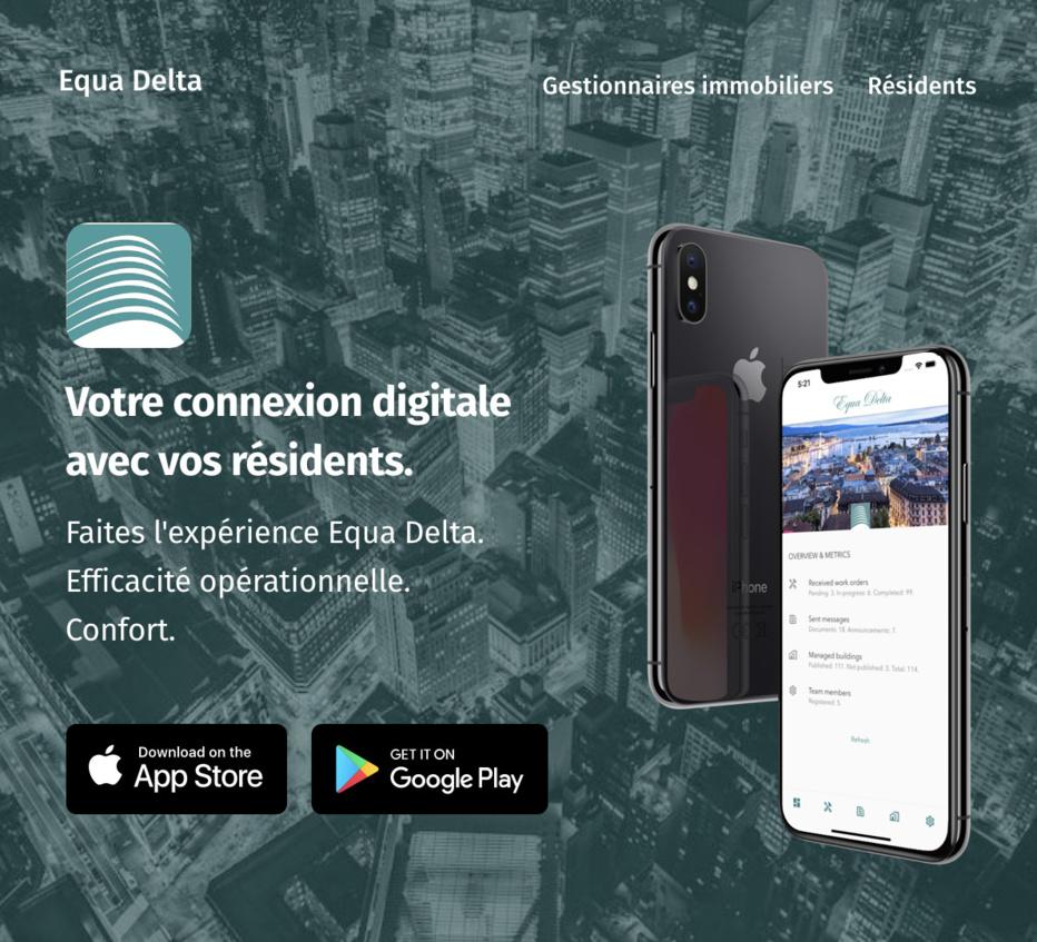 Exclusivité mondiale : Première application mobile grand public pour résidents