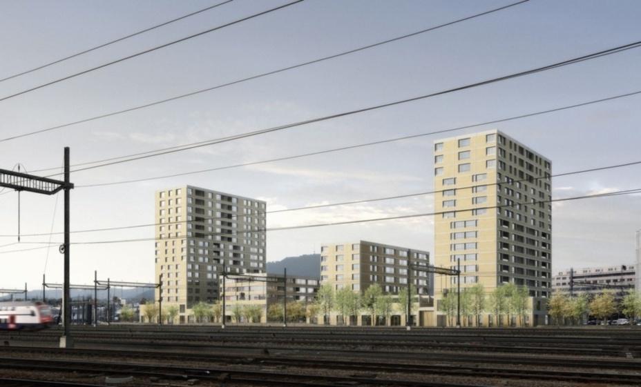 Nouveau grand projet à Zurich Altstetten