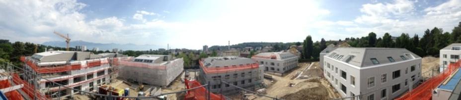 Parc la Feuillère, Lausanne : Plus de 100 nouveaux logements disponibles à la location  au nord de la ville