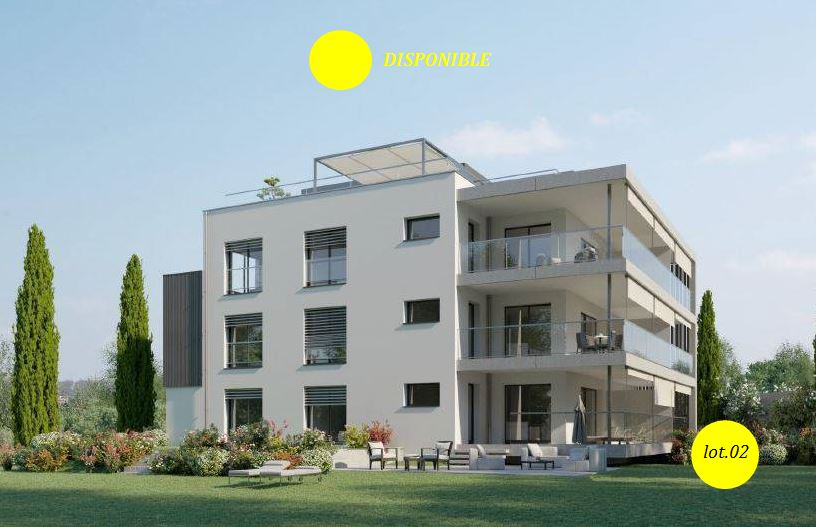 Appartement avec jardin privé sur les hauteurs de Genève