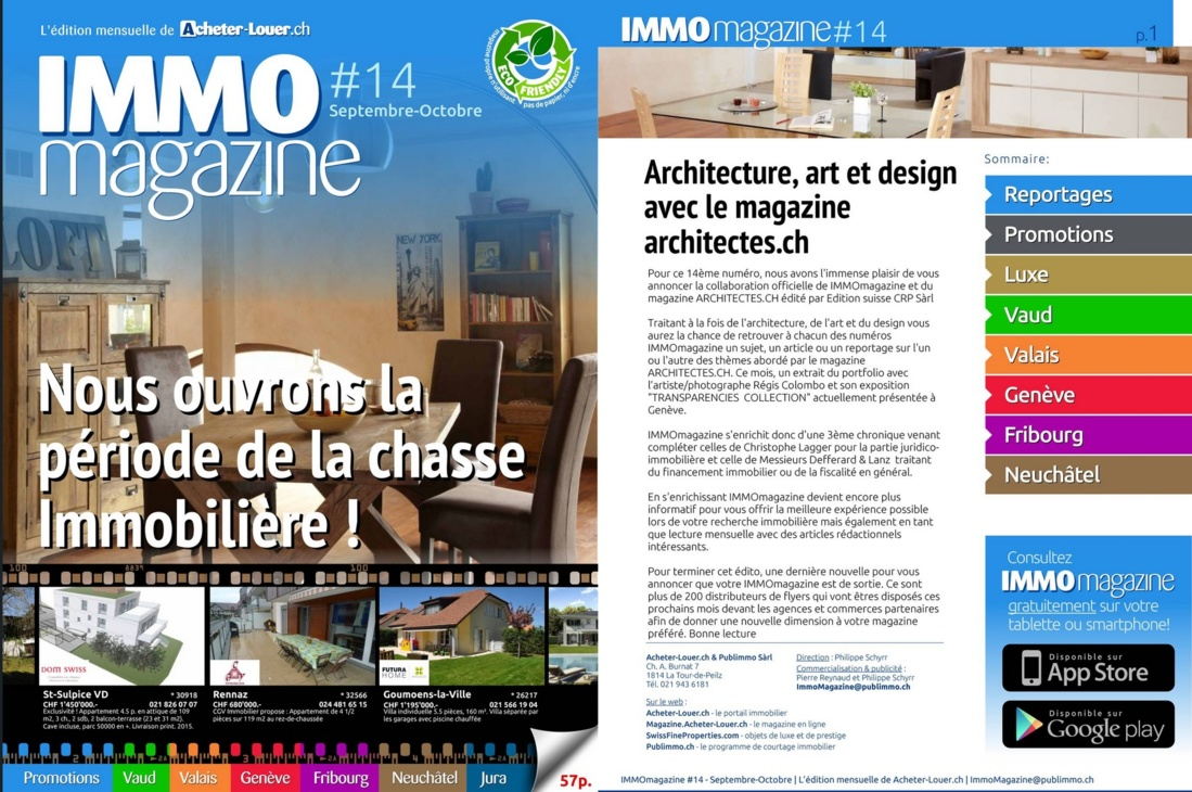 IMMOmagazine No 14 Septembre-Octobre 2013